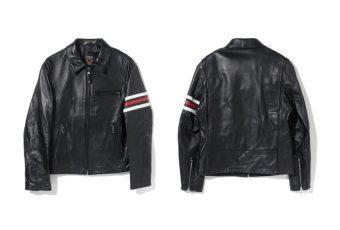 Stüssy & Schott NYC s'unissent pour une veste Rider