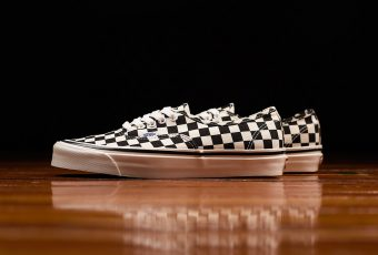 Vans sort une Authentic dans son print iconique damier