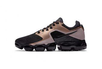 Nike sort une nouvelle Vapormax Metallic en Noir et Bronze