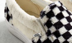 Vans sort une version sherpa des Slip-On en damier