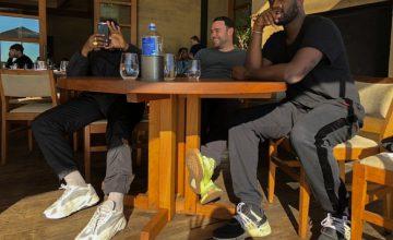 Kanye West tease sa YEEZY 700 en blanc