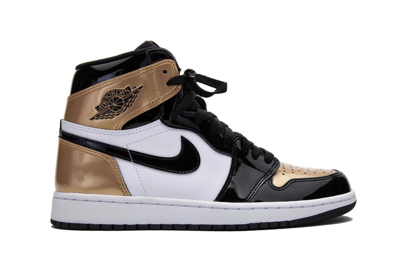 Nike va sortir une Air OG Jordan 1 Retro High OG Air en White Noir Gold e71c4d