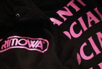 Anti Social Social Club tease une collaboration avec RIMOWA