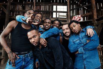 Le crew A$AP MOB prend la pose dans la dernière campagne Calvin Klein