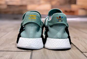 Un aperçu très rare version «Mint» des adidas Hu NMD Sneakers x Pharrell