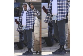 Kanye West tease une nouvelle adidas YEEZY Wave Runners en « All Black »