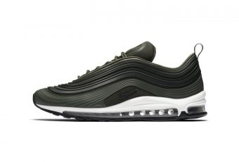 La Air Max 97 Ultra Premium dans un colorway Olive