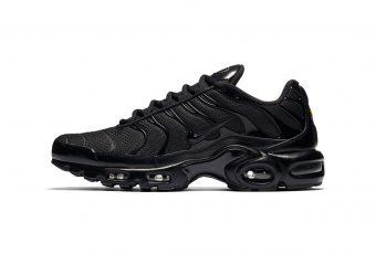 Pour fêter les 20 ans de la Air Max Plus Nike dévoile la «Triple Black» et la «Triple White»