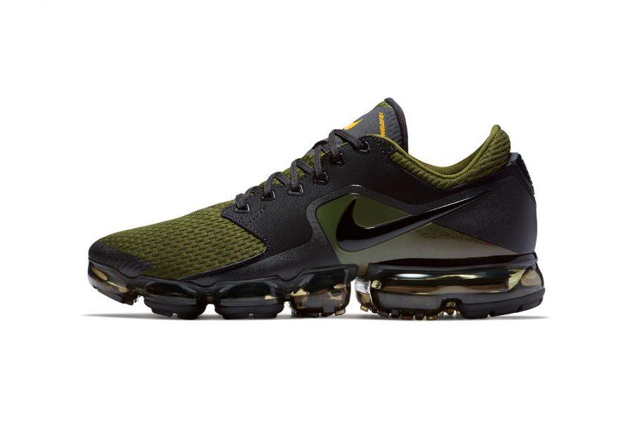 Nike dévoile une VaporMax CS en «Olive & Black»