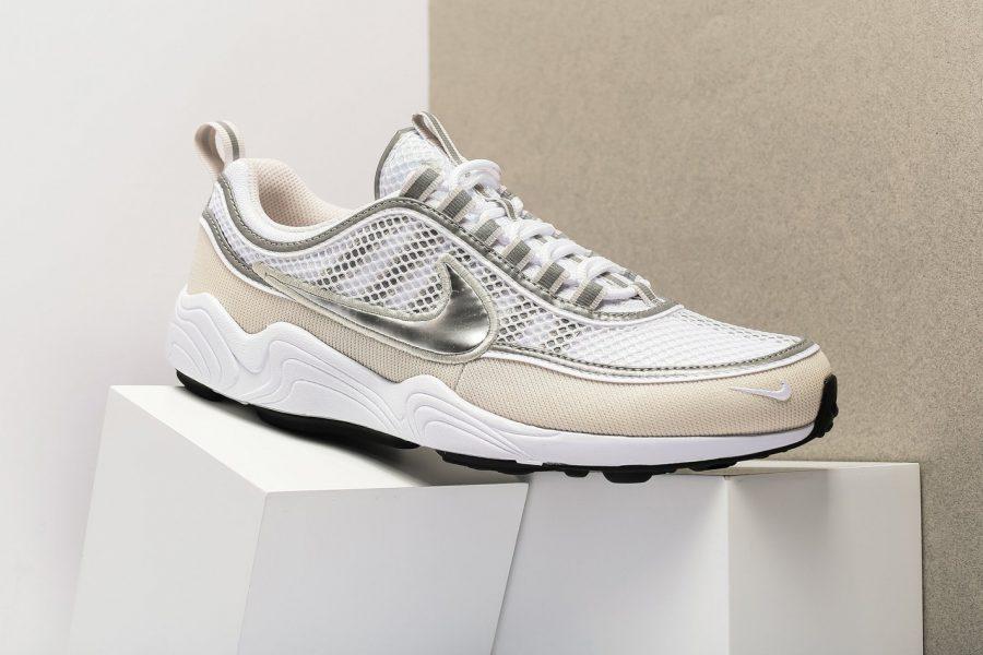Nike dévoile une Nike Air Zoom Spiridon en Cream/Silver