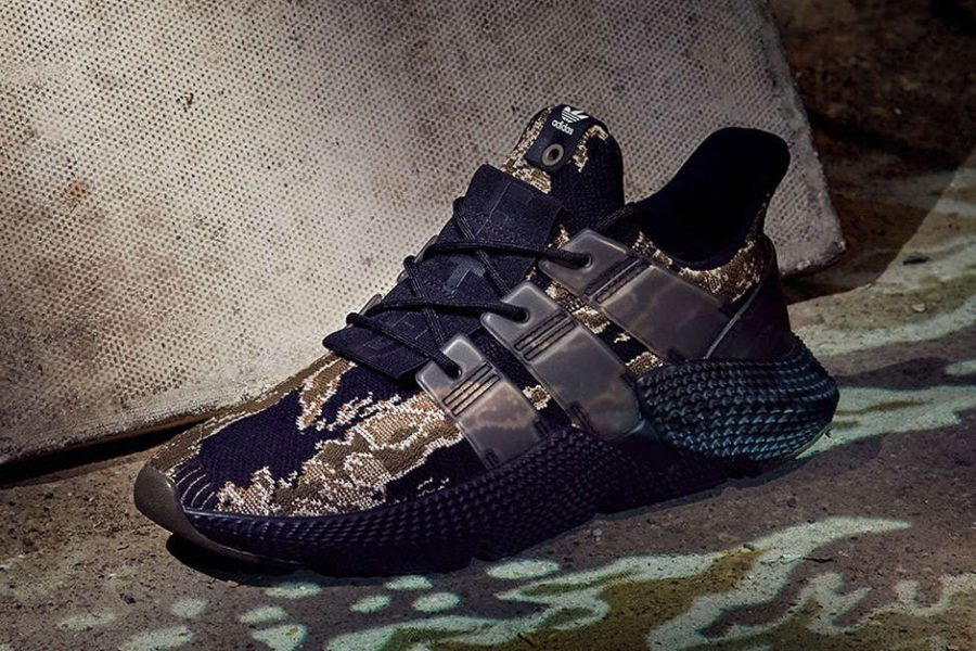 Les UNDEFEATED x adidas Originals Prophere « Tiger Camo » de plus près