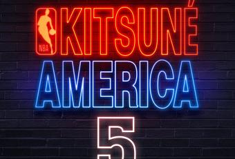Kitsuné dévoile une nouvelle collection en s'associant à la NBA!