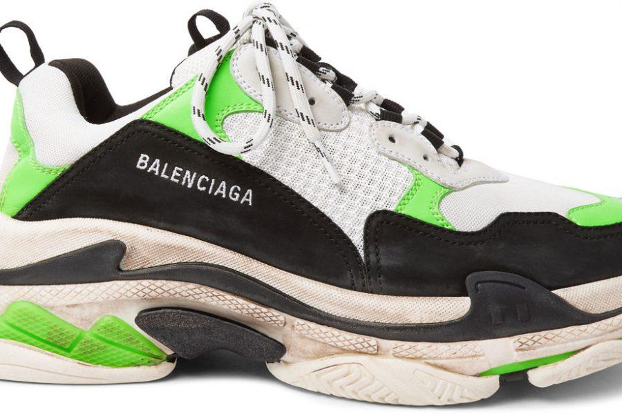 Balenciaga twiste ces Triple S et ses Speed Runer pour une collab exclu !