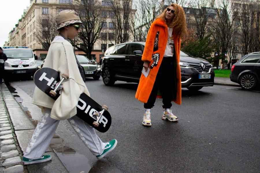 Le Street Style TRENDS de Pierre Pyros pour la Fashion Week homme parisienne