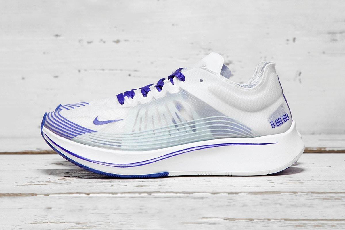 Découvrez la Nike Zoom Fly SP en royal Bleu !