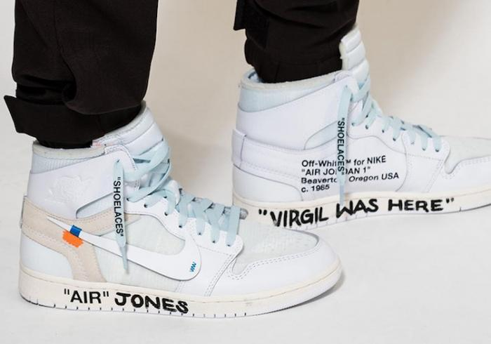 Virgil Abloh dévoile la OFF-Wite X Nike Air Jordan 1 durant la Fashion Week !