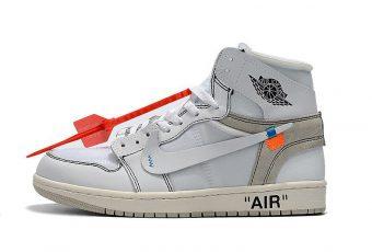 La date de sortie de la Off-White «Air Jordan 1» blancheenfin dévoilée!