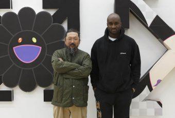 Virgil Abloh et Takashi Murakami ouvrent une exposition à Londres !