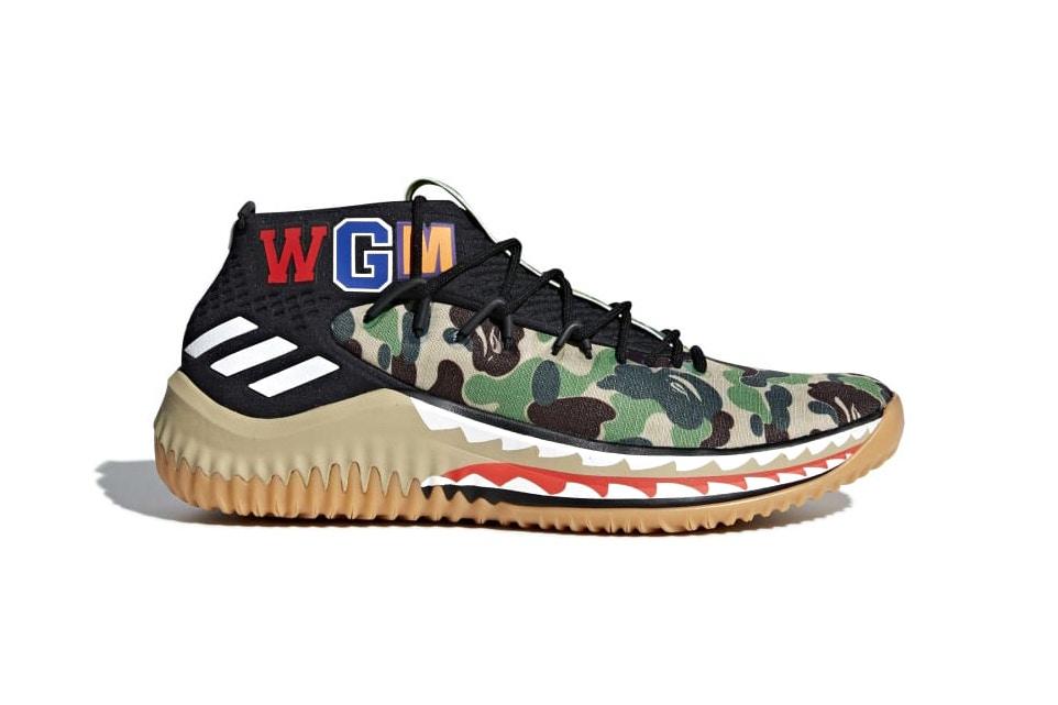Découvrez la date de lancement pour la paire BAPE x Adidas