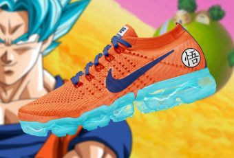 Un fan talentueux s'amuse à créer une collaboration Nike Vapomax X Dragon Ball Z !