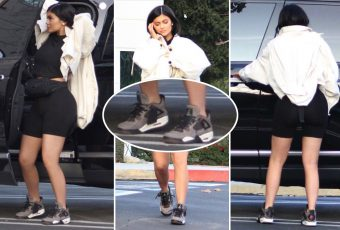 Rumeur : Kylie Jenner porterait la nouvelle collaboration de Travis Scott x Air Jordan ?!
