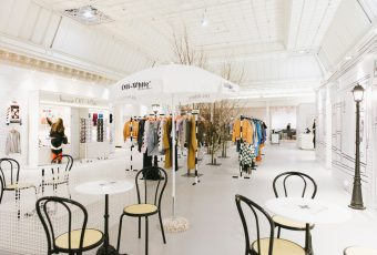Off-White et Le Bon Marche ouvrent un pop-up café !