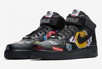 Premier visuel de la paire Supreme X Nike Air Force 1 !