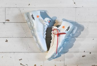 Off-White dévoile la Nike Air Vapor Max Flyknit en coloris « white » !