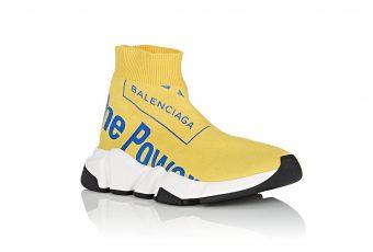Balenciaga : la nouvelle sneakers très optimiste !