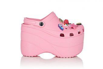 Quand Balenciaga ajoute la Crocs haute forme à sa sélection de luxe!