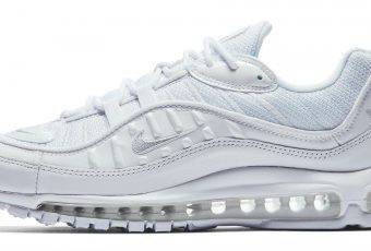 ALL WHITE ! La Nike Air Max 98 Pure Platinum enfin disponible !