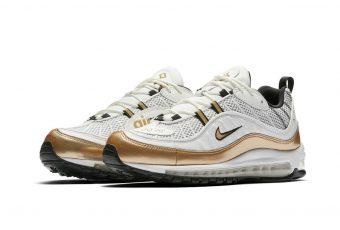 Les premières images de la Nike Air Max 98 UK, «White Gold»!