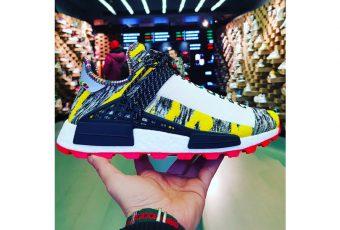 Venez découvrir les visuels de la Adidas Originals NMD Hu Trail X Pharrell Williams
