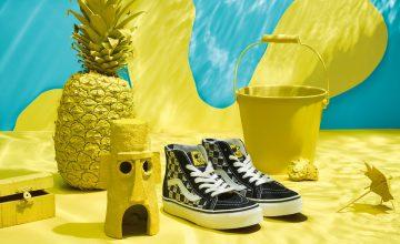 Vans collabore avec Nickelodeon et nous dévoile une collection Bob l'éponge !