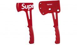 Les nouveaux accessoires de Supreme sont disponibles et une hache…