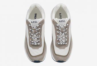 A.P.C. dévoile ses nouvelles sneakers !