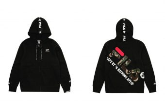AAPE by A Bathing Ape et Fila sortent une collection ensemble !