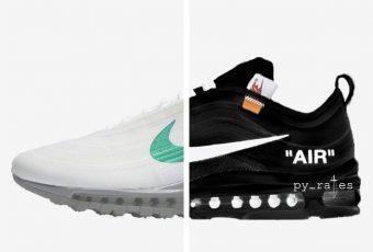 RUMEUR: Une prétendue sortie de deux nouvelles Nike Air Max 97 X Off-White affole les sites de streewear!