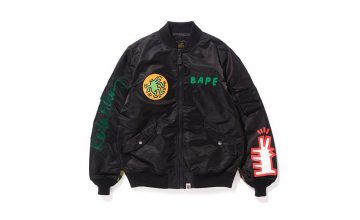 Keith Haring X BAPE collaborent pour la collection SS 18 !