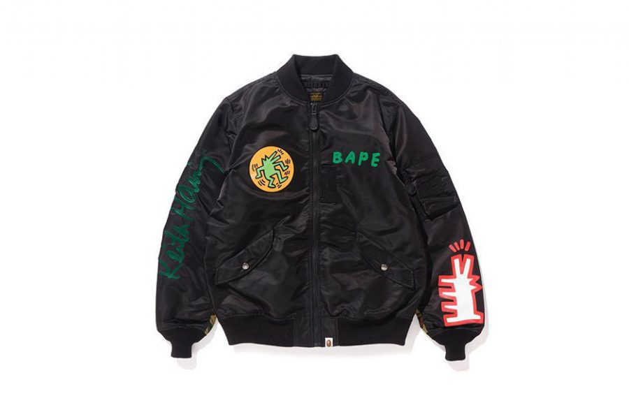 Keith Haring X BAPE collaborent pour la collection SS 18!