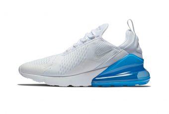 Nike donne une touche de bleu à la Air Max 270 !
