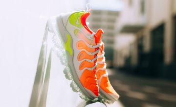 Découvrez la Nike Air Vapormax Plus « Reverse Sunset » !