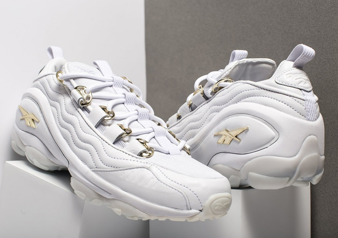 Reebok DMX Run 10 White Gold trends