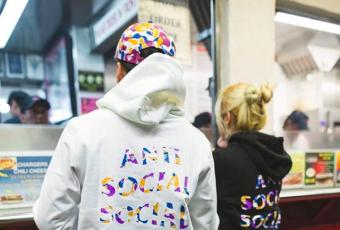 Anti Social Social Club & BAPE : les premières images