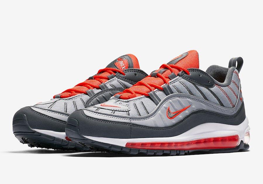 3cdb5eb3f77 Les premiers visuels de la Nike Air Max 98 « Total Crimson » !