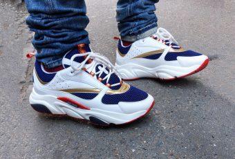 Dior Homme dévoile un nouveau coloris pour sa chunky sneaker !