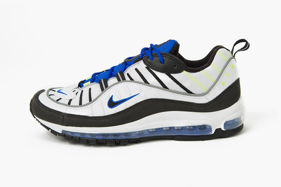 20585d2b470 Un premier aperçu de la Nike Air Max 98 « Racer Blue » !