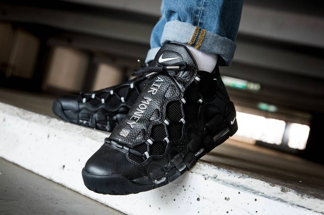 nike air more money homme