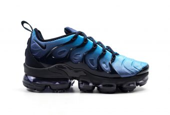 Zoom sur la Nike Air VaporMax plus « Obsidian »