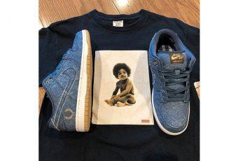 Le premier aperçu de la Nike SB « Biggie Vs. Tupac » est dès maintenant disponible !